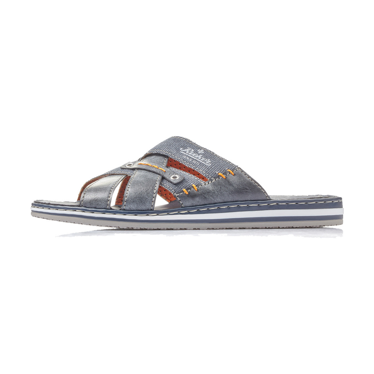 Rieker Rieker Men's Slide 21599-14 Denim