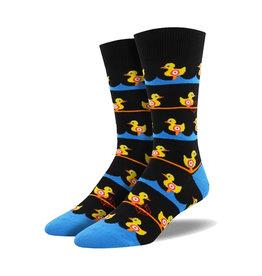 Socksmith Men's Ducks In a Row M 7 - 12.5