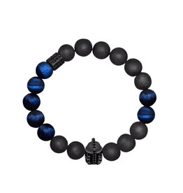 Lia Lubiana Men's Dauntless Geode Bracelet