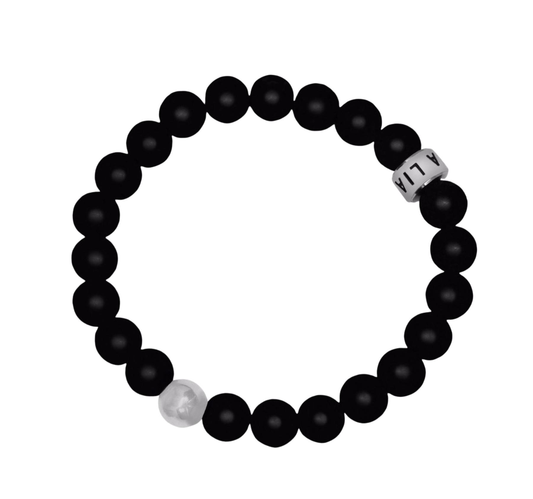 Lia Lubiana Lia Lubiana Onyx Single Bracelet