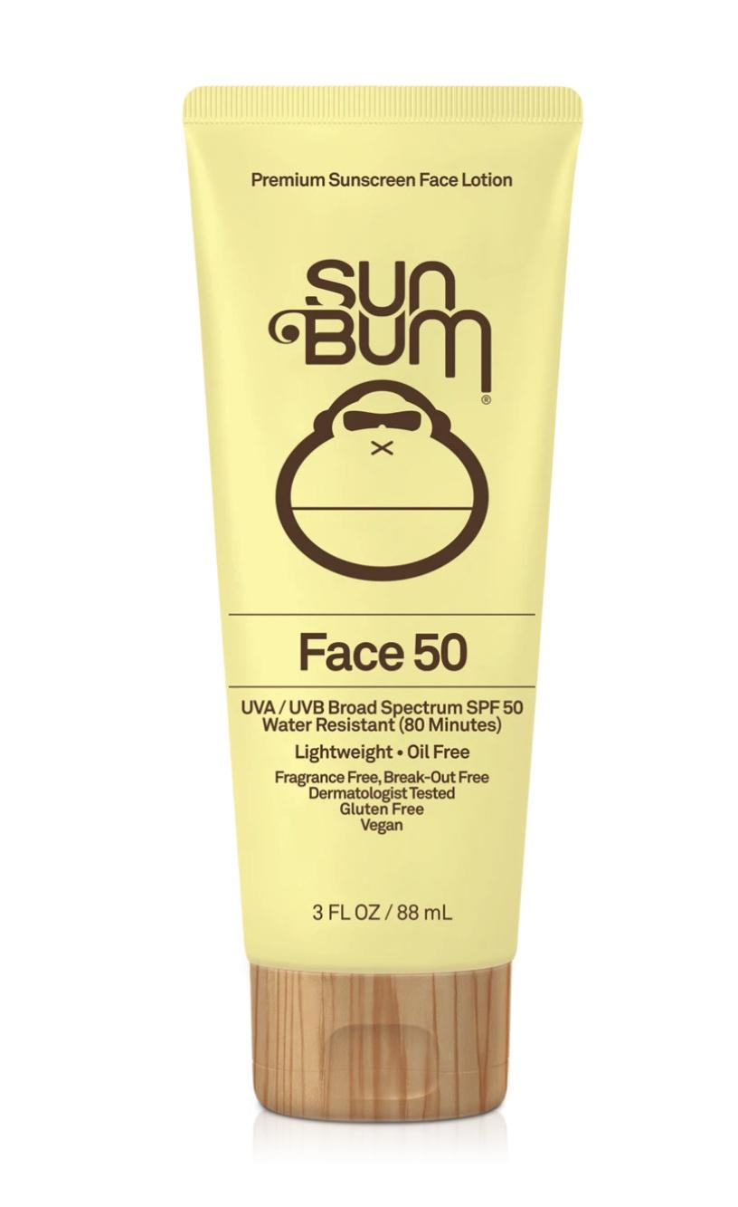 Sun Bum Sun Bum Original SPF 50 Face Cream 1oz.