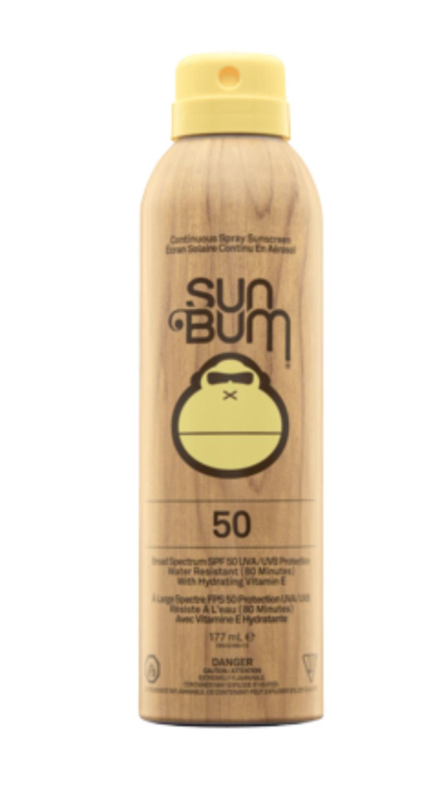 Sun Bum Sun Bum Original SPF 50 Suncreen Spray