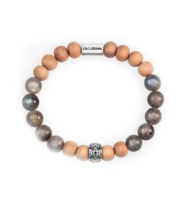 Lia Lubiana Labradorite Sandalwood Bracelet