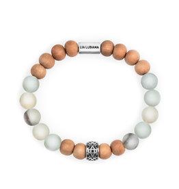 Lia Lubiana Amazonite Sandalwood Bracelet