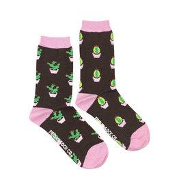 Friday Sock Co. Women's Cactus Crew W 5 - 10 (M - 4 - 8)