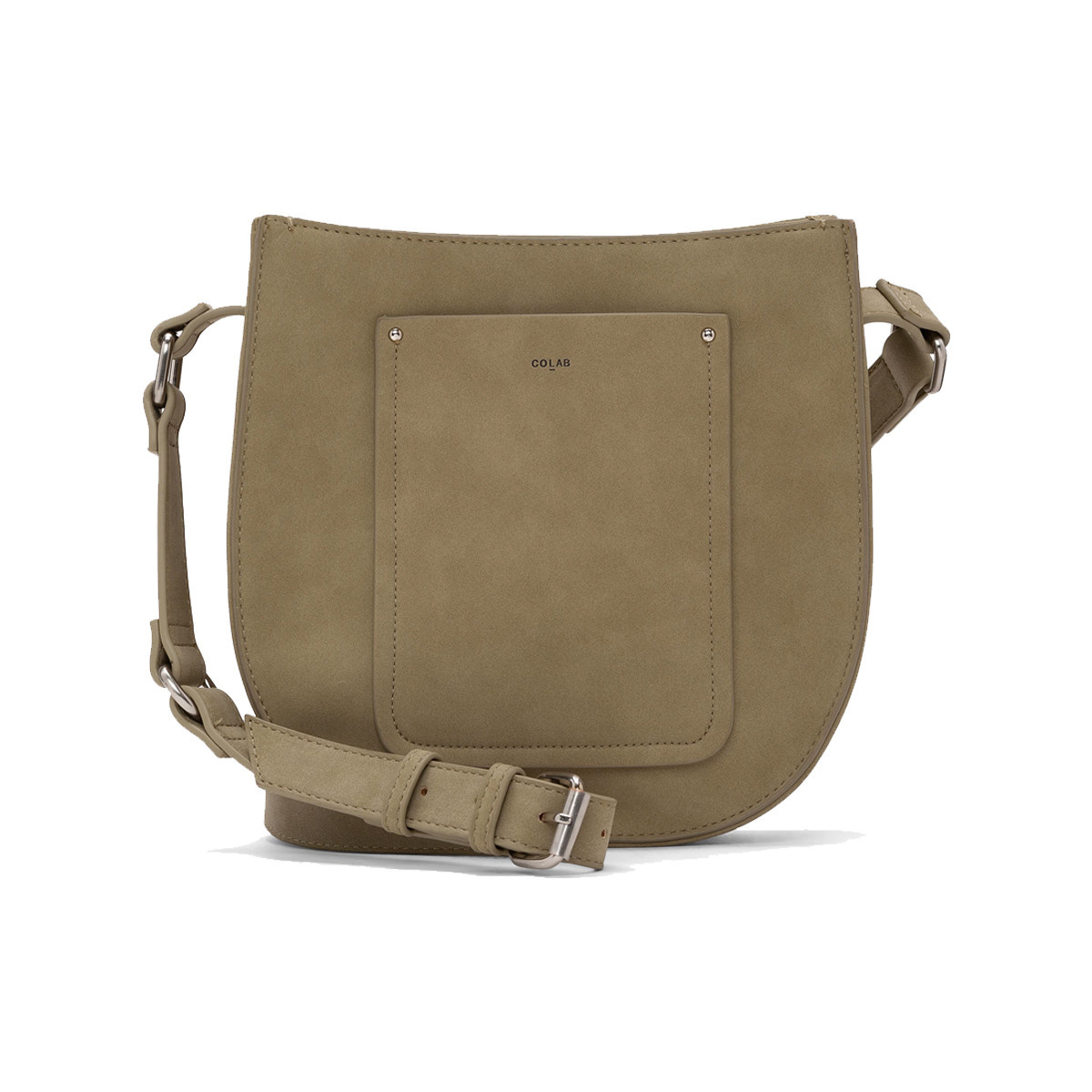Colab Colab Seddle Vegan Suede Crossbody