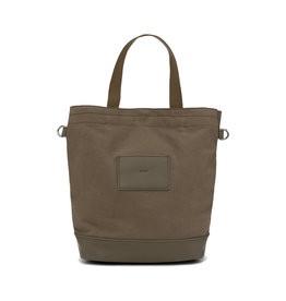 Colab Canvas / Vegan Leather Bucket Crossbody