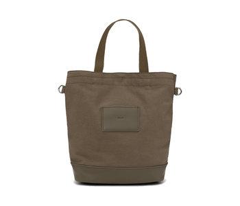 Colab Canvas / Vegan Leather Bucket Crossbody