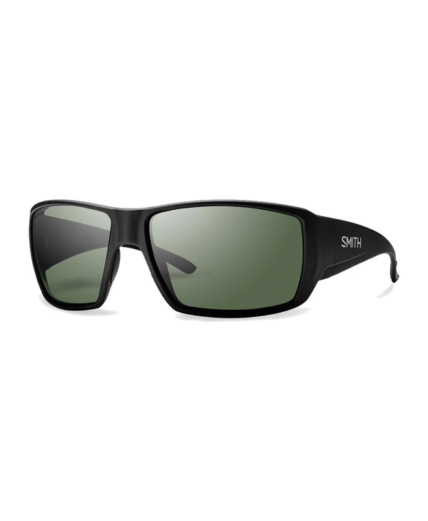 Smith Guides Choice Matte Black / Grey Green Lens