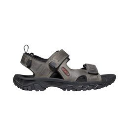 Keen Men's Targhee III Open Toe Grey / Black