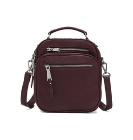 Colab Essential Backpack / Crossbody Wine