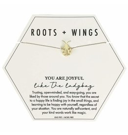 Roots + Wings Ladybug Necklace