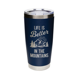 Life is Better...Mountains Navy
