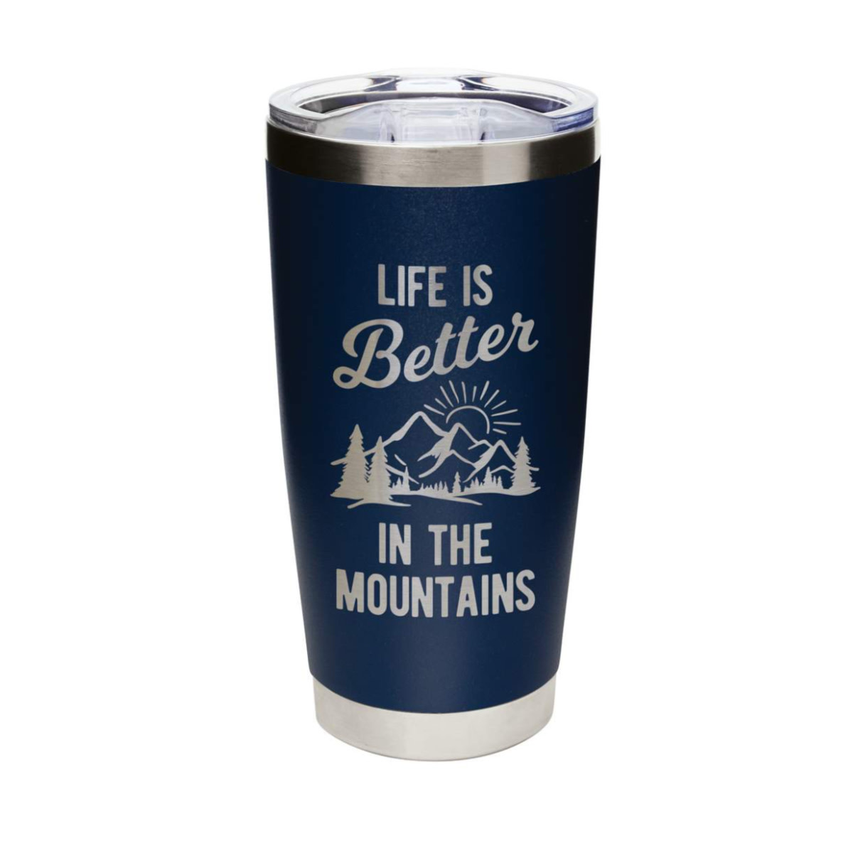 Mary Square Life is Better...Mountains Navy