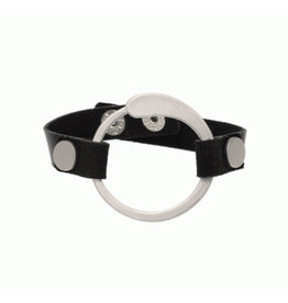 Joy Susan Leather Teardrop Circle Bracelet