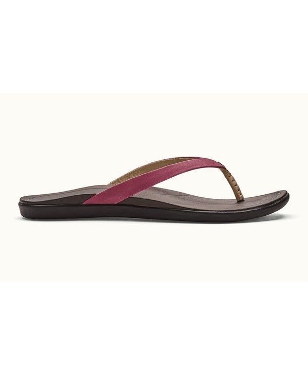 Olukai Womens HO'OPIO Leather Flip Flop