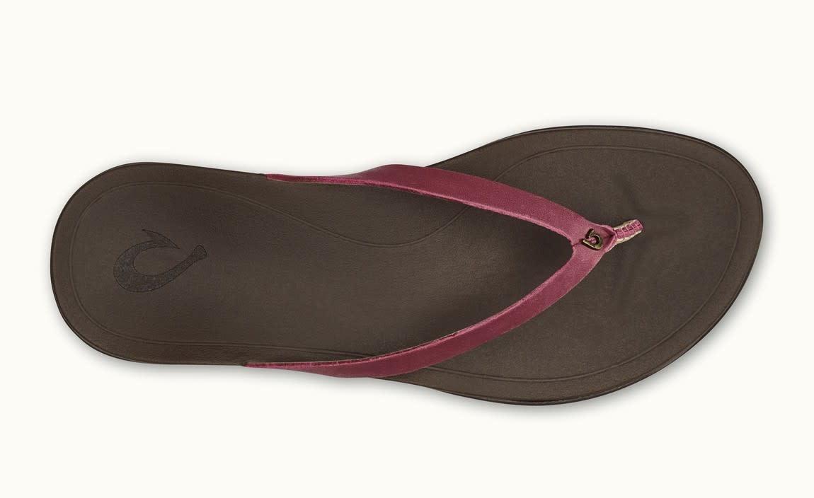OluKai Olukai Womens HO'OPIO Leather Flip Flop