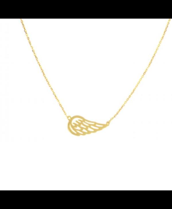 Joy Susan Angel Wing Necklace