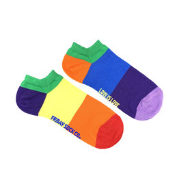Friday Sock Co. Women's Love is Love Ankle W 5 - 10 (M - 4 - 8)