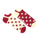 Friday Sock Co. Friday Sock Co. Men's Canadian Maple Leaf Ankle M 7 - 12 (W 8 - 13)