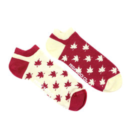Friday Sock Co. Men's Canadian Maple Leaf Ankle M 7 - 12 (W 8 - 13)