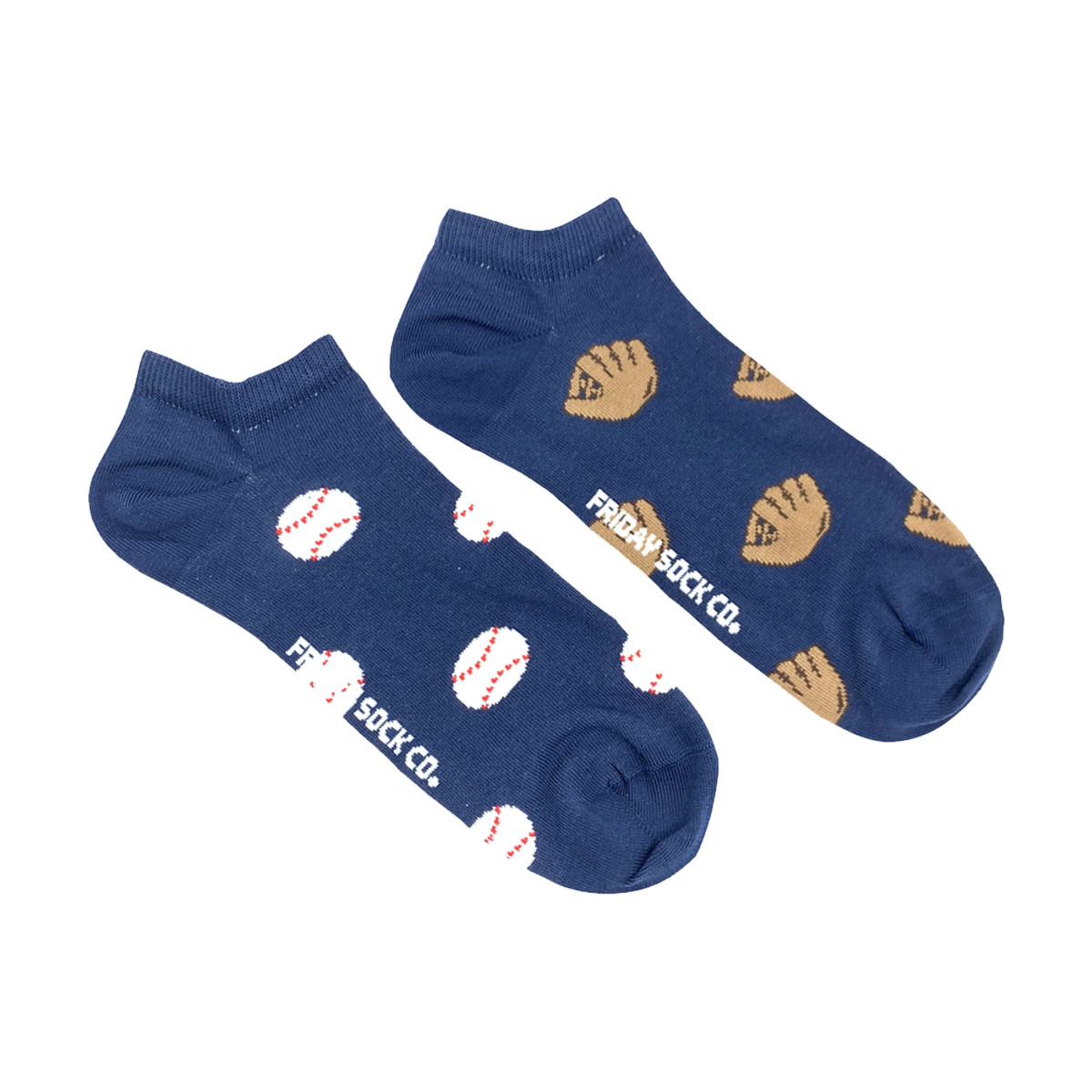 Friday Sock Co. Friday Sock Co. Men's Baseball & Glove Ankle M 7 - 12 (W 8 - 13)