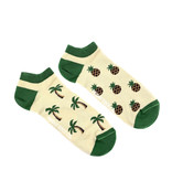Friday Sock Co. Friday Sock Co. Men's Pineapple & Palm Tree Ankle M 7 - 12 (W 8 - 13)