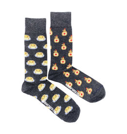 Friday Sock Co. Men's Maple Syrup & Pancake M 7 - 12