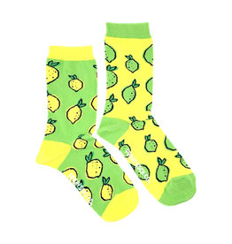 Friday Sock Co. Women's Lemon & Lime Crew W 5 - 10 (M - 4 - 8)