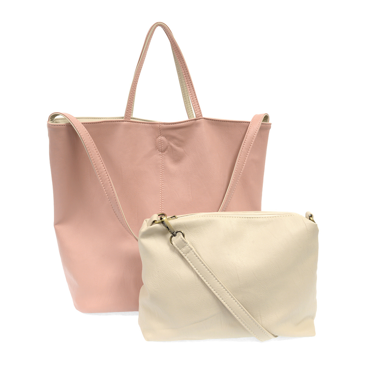 Joy Susan Joy Susan Riley Reversible Tote Pink