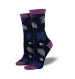 Socksmith Socksmith Women's Bamboo Socks Autumn Leaves Navy W 5 - 10.5