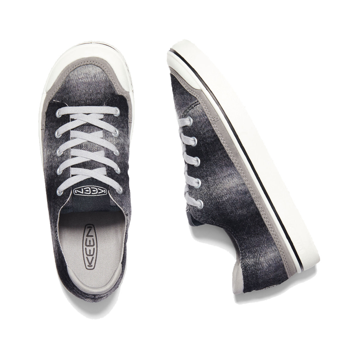 Keen Keen Elsa IV Sneaker Black Plaid