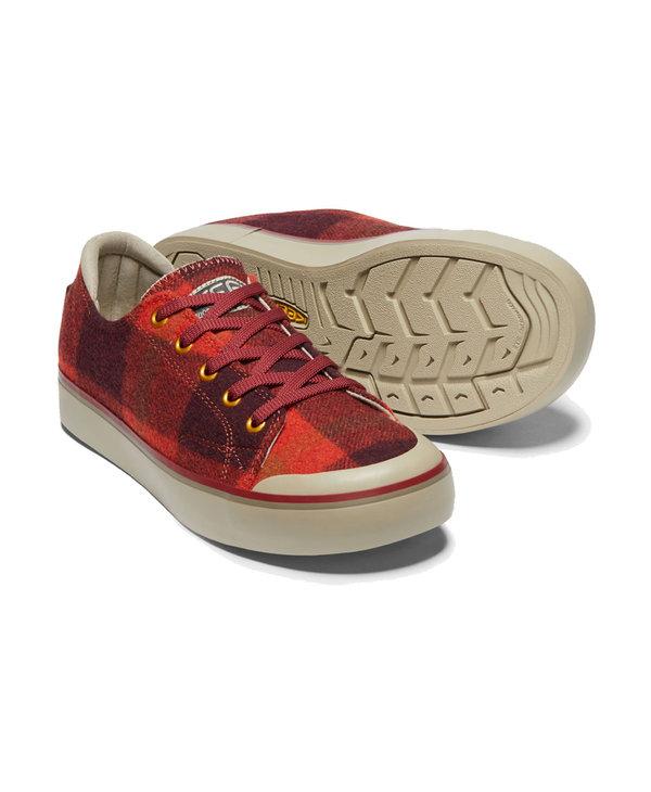 Keen Elsa III Sneaker Red Plaid