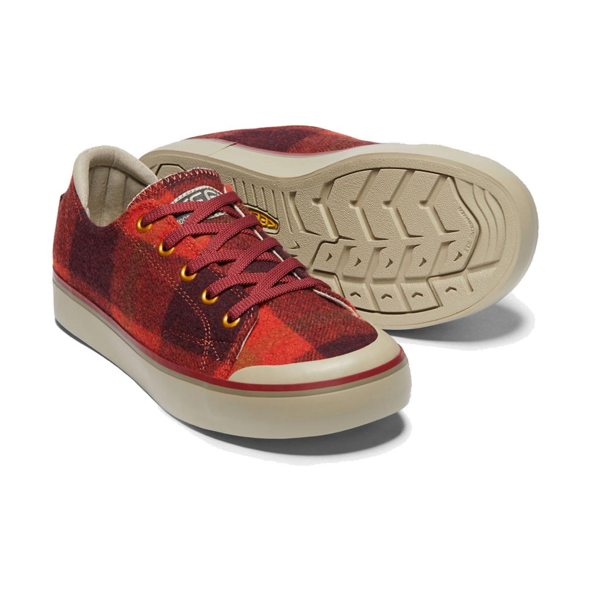 Keen Keen Elsa III Sneaker Red Plaid