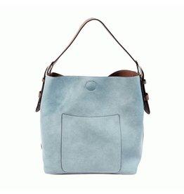 Joy Susan Classic Hobo Handbag Light Denim