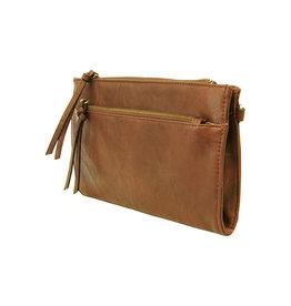 Joy Susan Cece Vintage Handbag Cognac