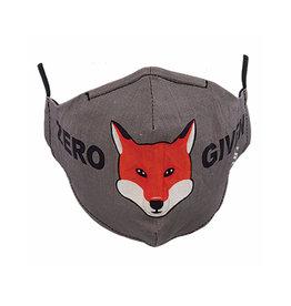 """Socksmith Mask Zero """"Fox"""" Given Gray"""