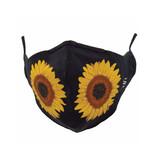 Socksmith Socksmith Mask Sunflower Black