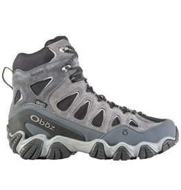 "Oboz Men's Sawtooth 8"" Insulated Pewter"