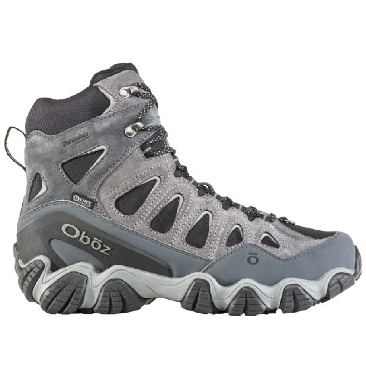 "Oboz Oboz Men's Sawtooth 8"" Insulated Pewter"