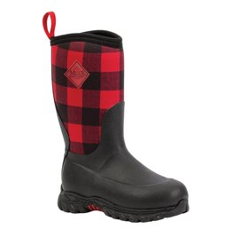 Muck Kid's Rugged II Red Plaid