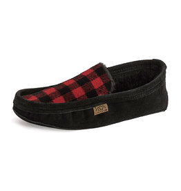 Laurentian Chief Men's Slipper Red Plaid