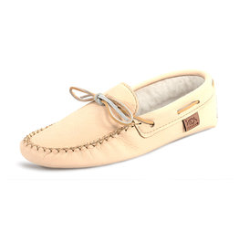 Laurentian Chief Men's Moccasins Deer Natural