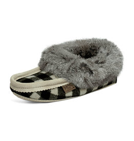 Laurentian Chief Women's Moccasins Ice Plaid