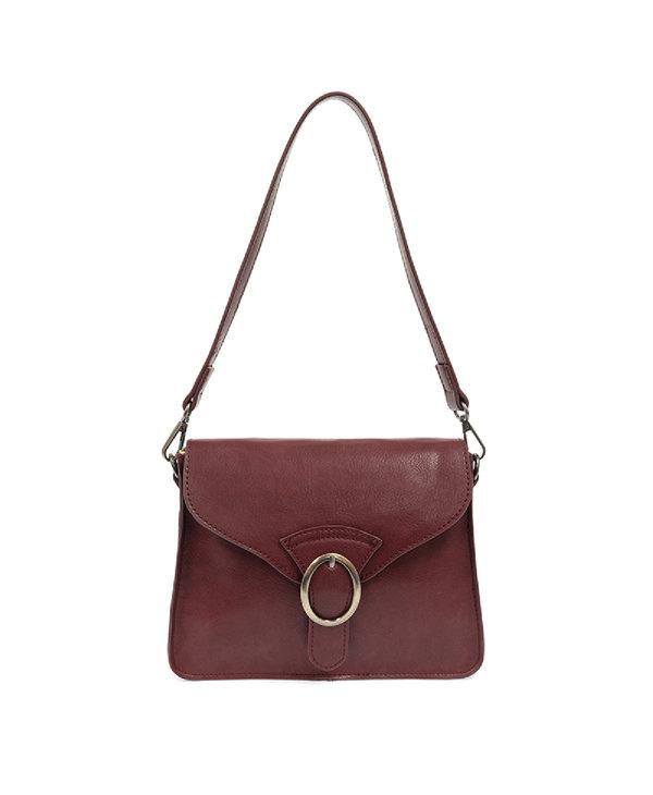 Joy Susan Drea Crossbody Handbag Burgundy