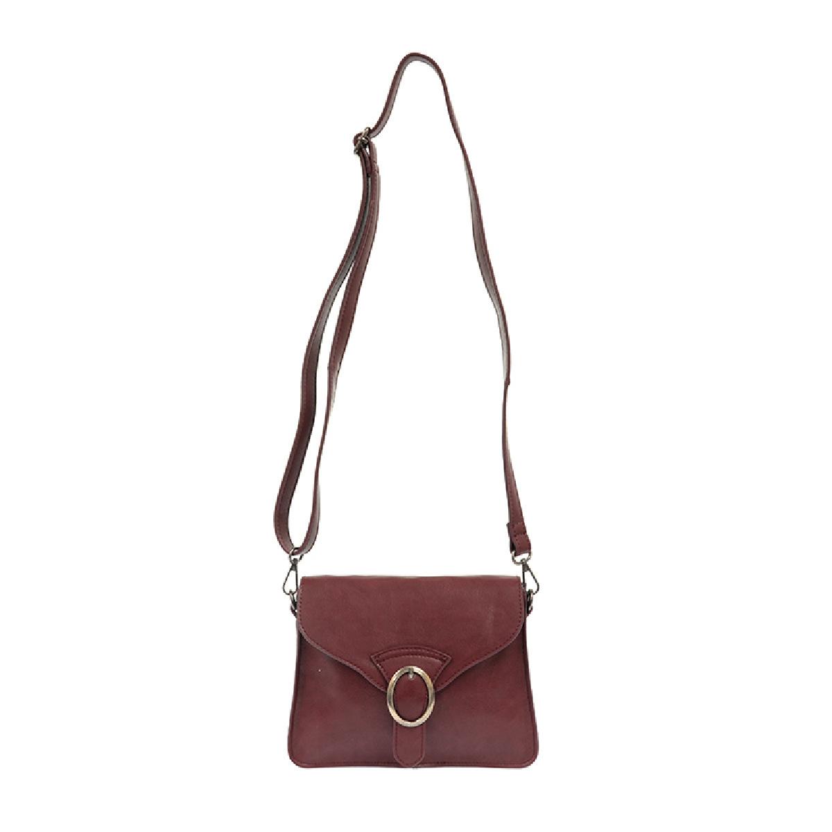 Joy Susan Joy Susan Drea Crossbody Handbag Burgundy
