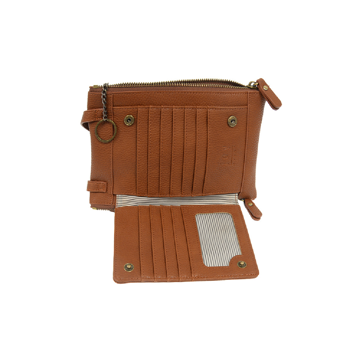 Joy Susan Joy Susan Mary Multi-Pocket Crossbody Maple