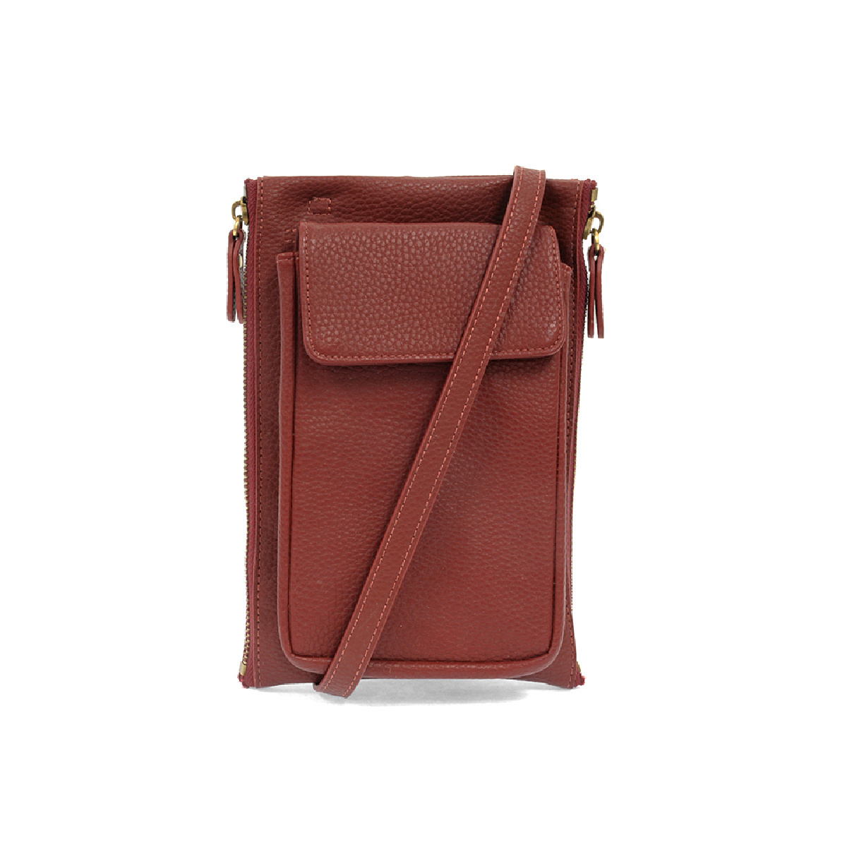 Joy Susan Joy Susan Mary Multi-Pocket Crossbody Garnet