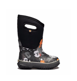 BOGS Kid's Classic Moons Black