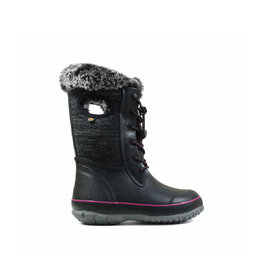 BOGS Kid's Arcata Knit Black